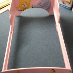 The foundation: a princess bed